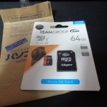 TeamのmicroSDXC 64GB (TUSDX64GUHS03)と手持ちの物と比較レビュー!!(再検証)